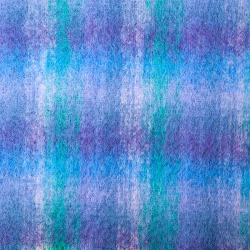 Lilac Purple and Turquoise Soft Check
