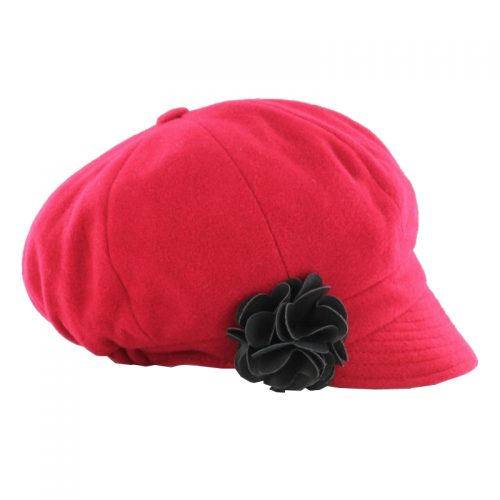 Newsboy Hat Red